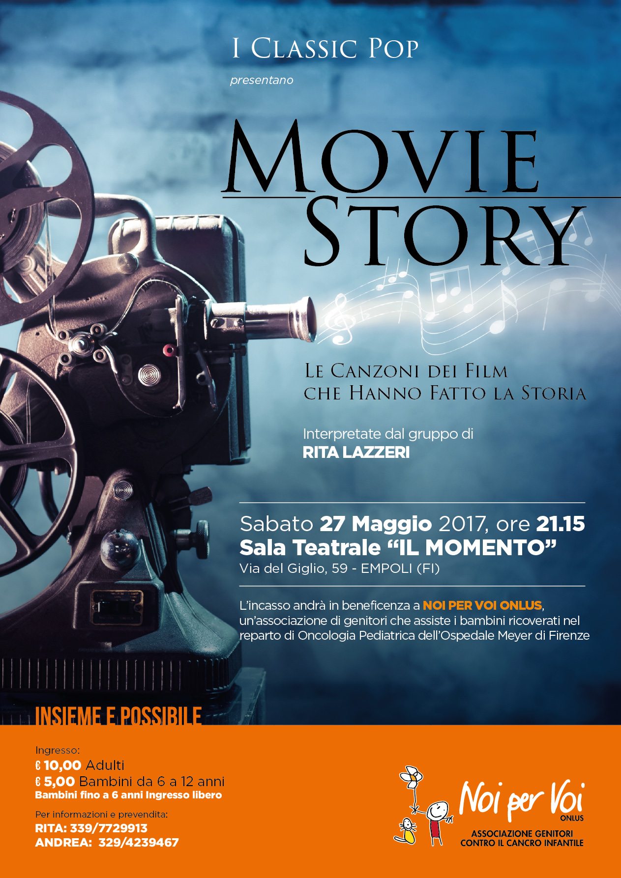 Spettacolo musicale Movie Story