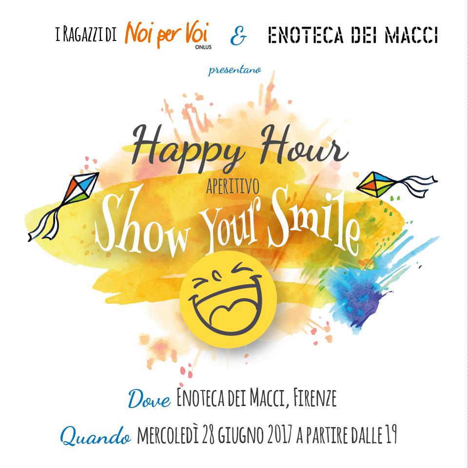 show your smile apericena