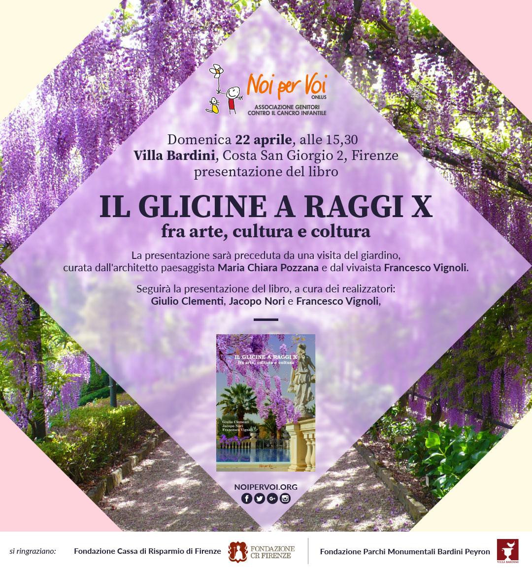 presentazione libro a Villa Bardini