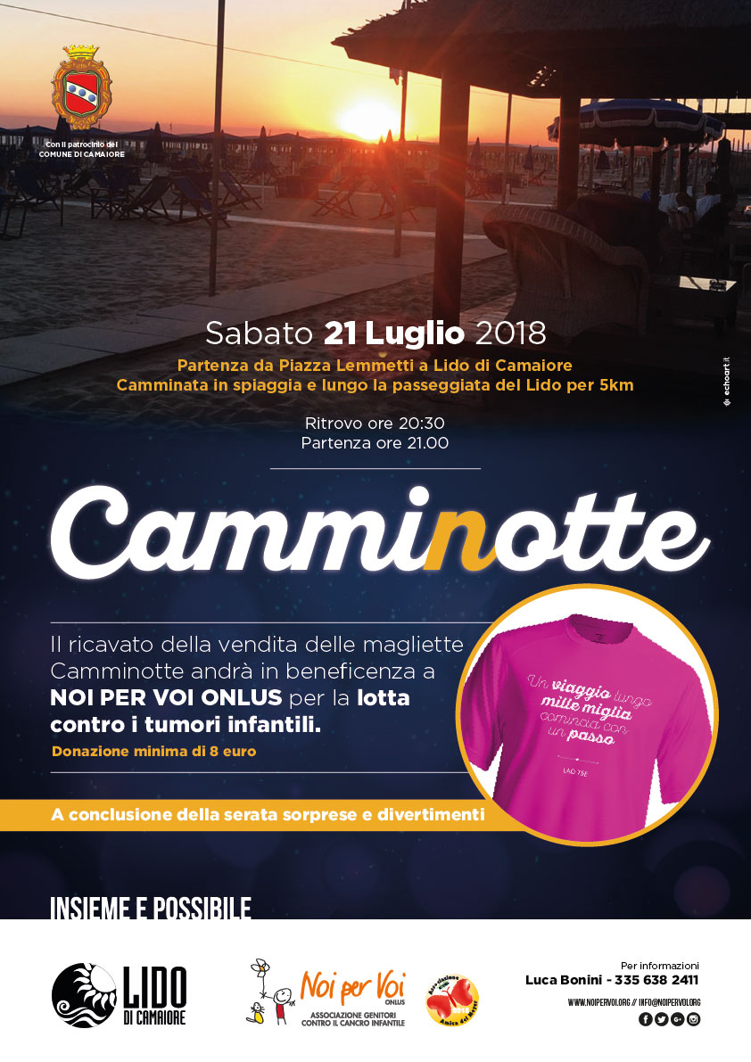 Camminotte in Fuxia