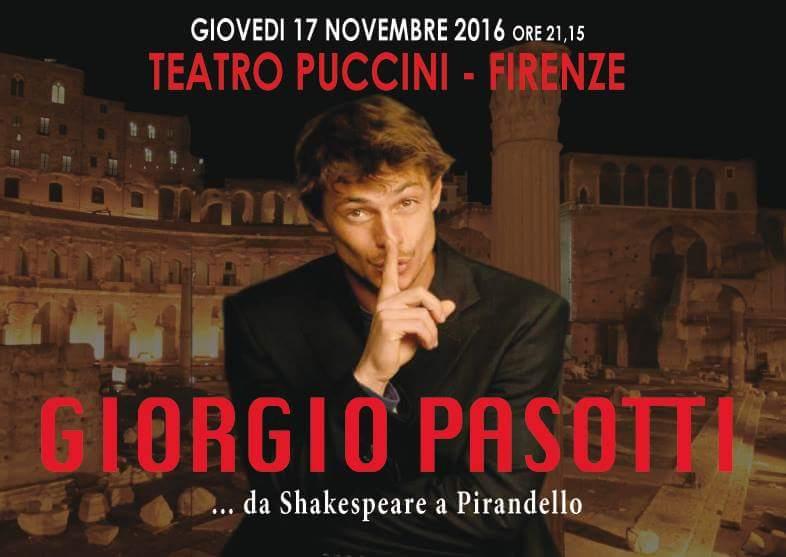 Giorgio Pasotti_Teatro Puccini - Firenze