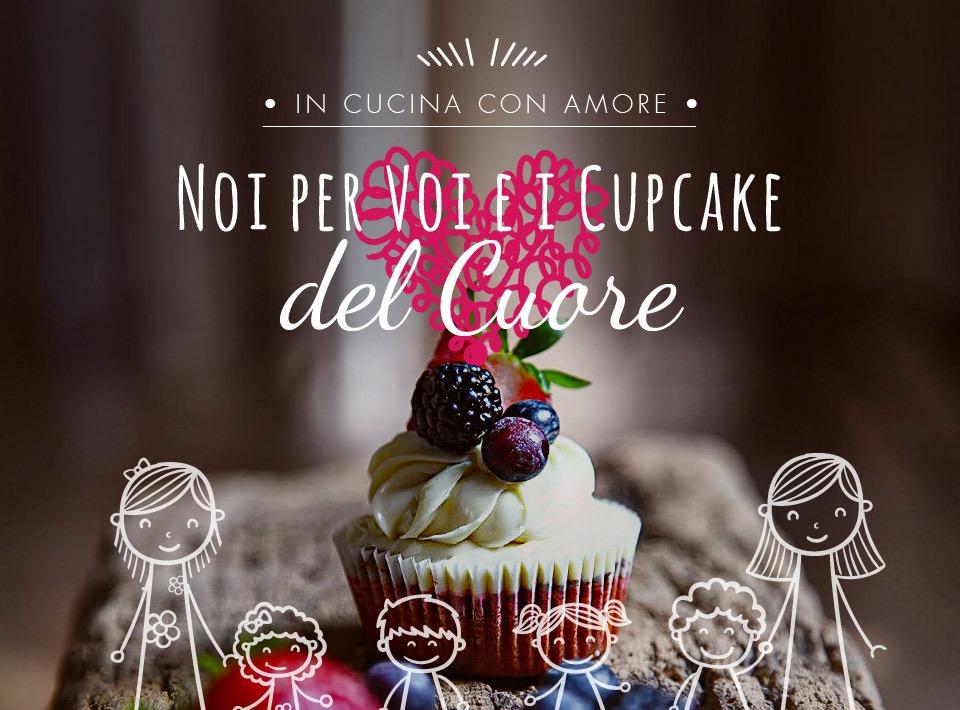 cupcake del cuore Noi per Voi