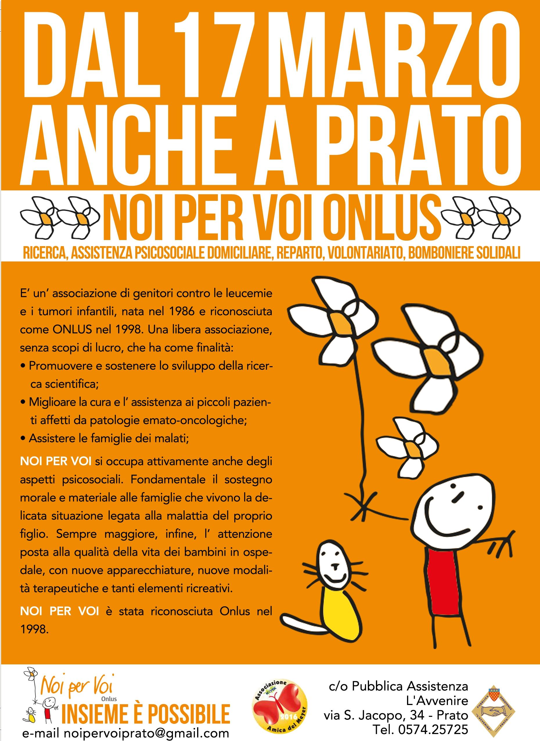 Noi per Voi sezione Prato