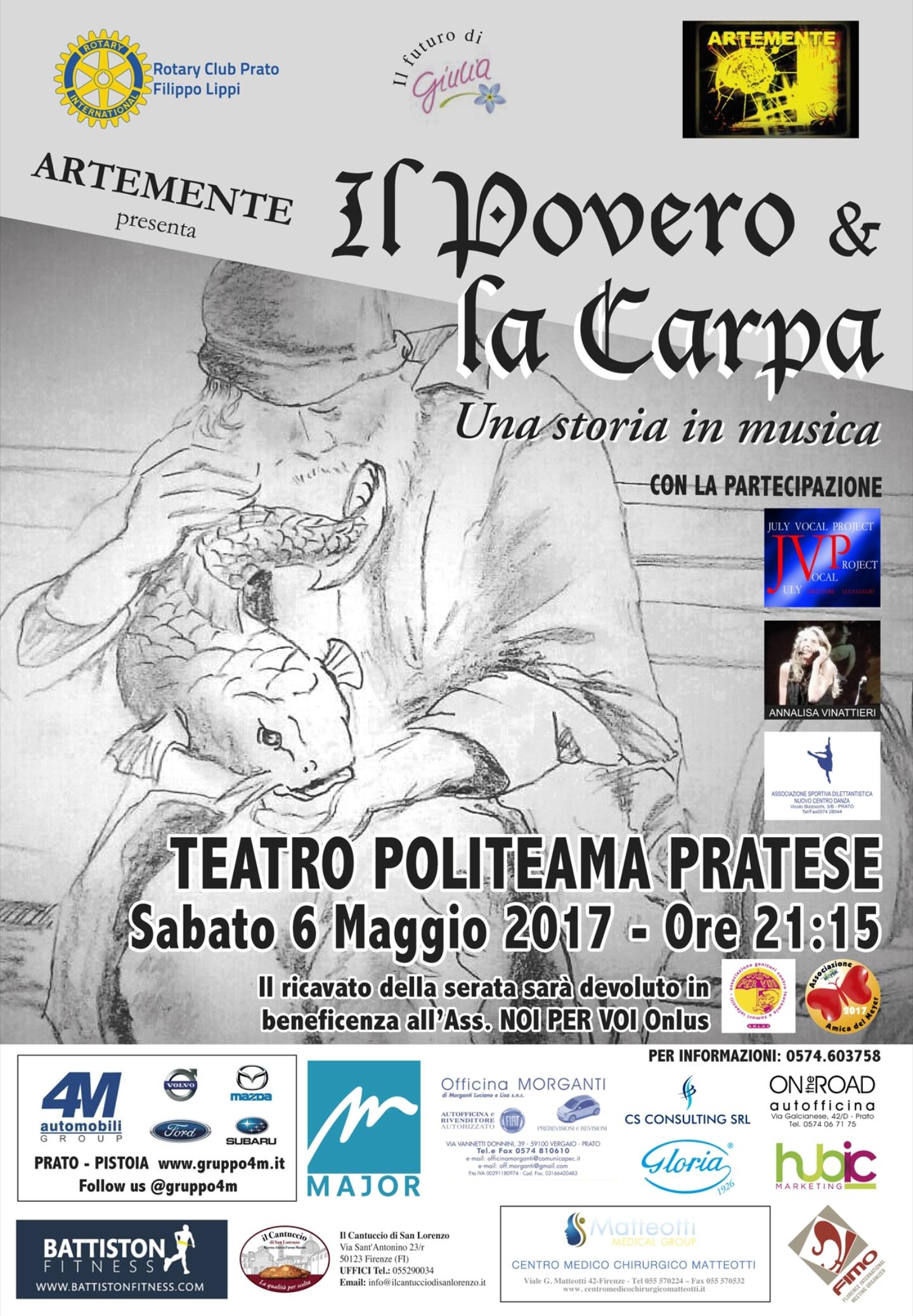 spettacolo teatrale a Prato