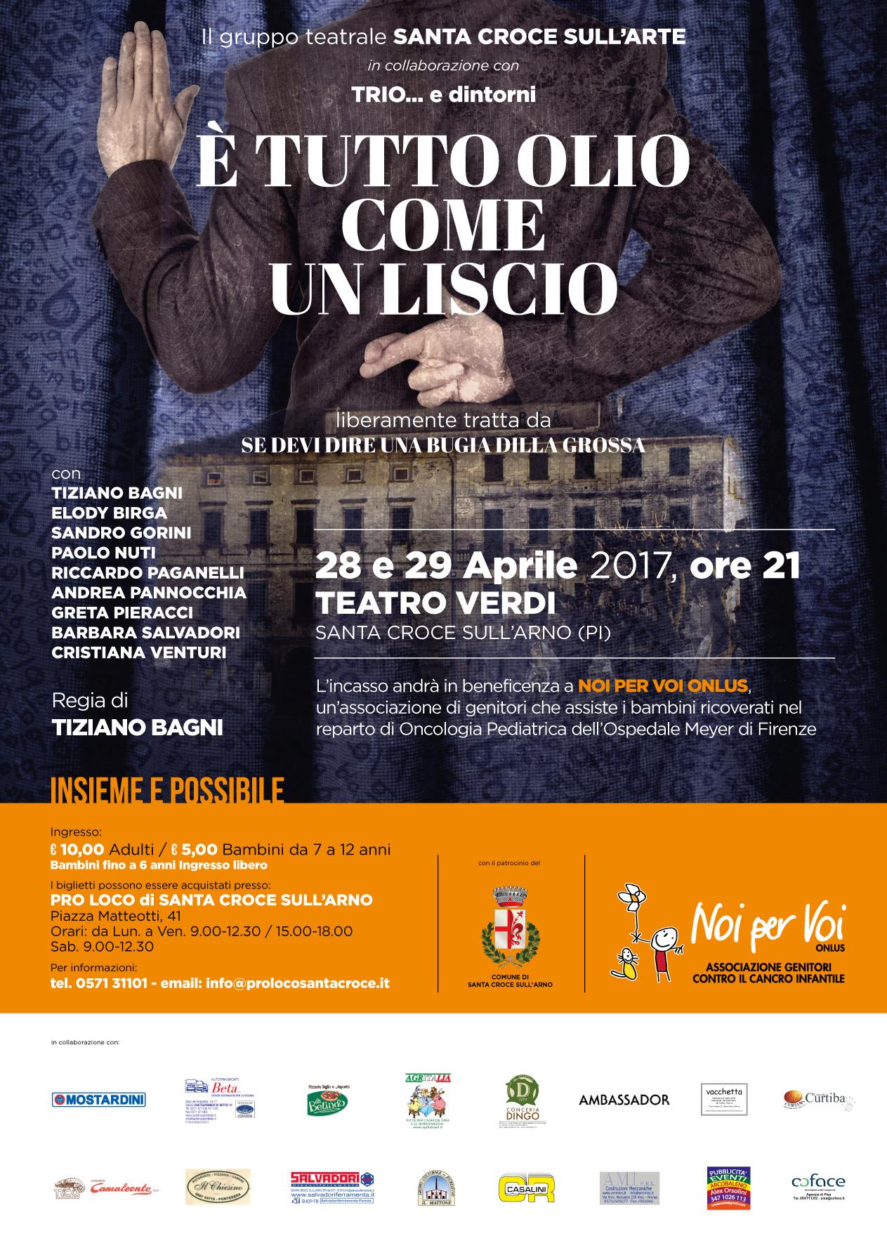 spettacolo teatrale Santa Croce