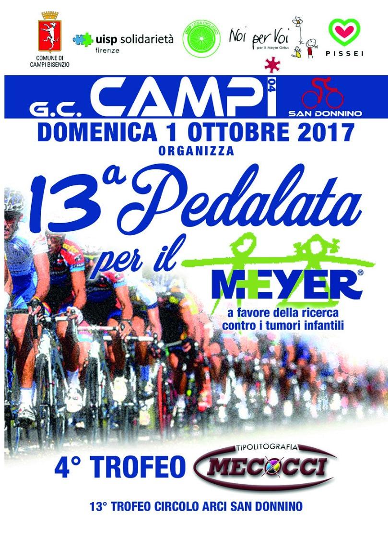 13-pedalata per il Meyer