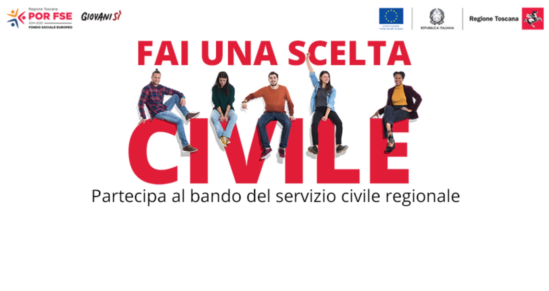 servizio civile 2018 Toscana