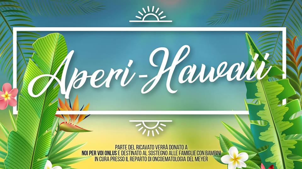 Aperi Hawaii evento di beneficenza