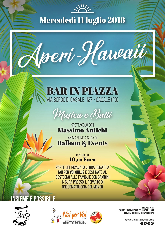 Aperi Hawaii evento benefico