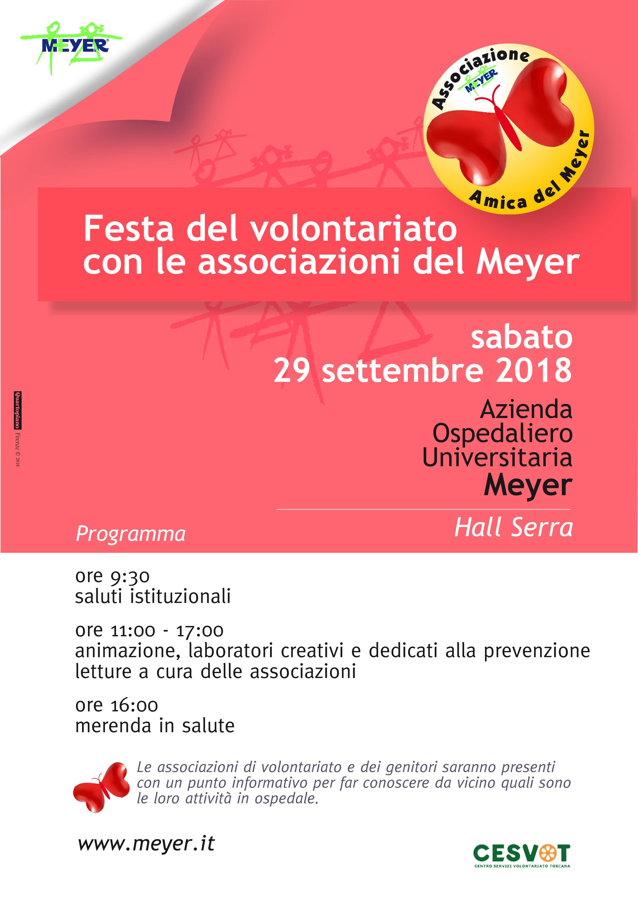 Festa Volontariato al Meyer