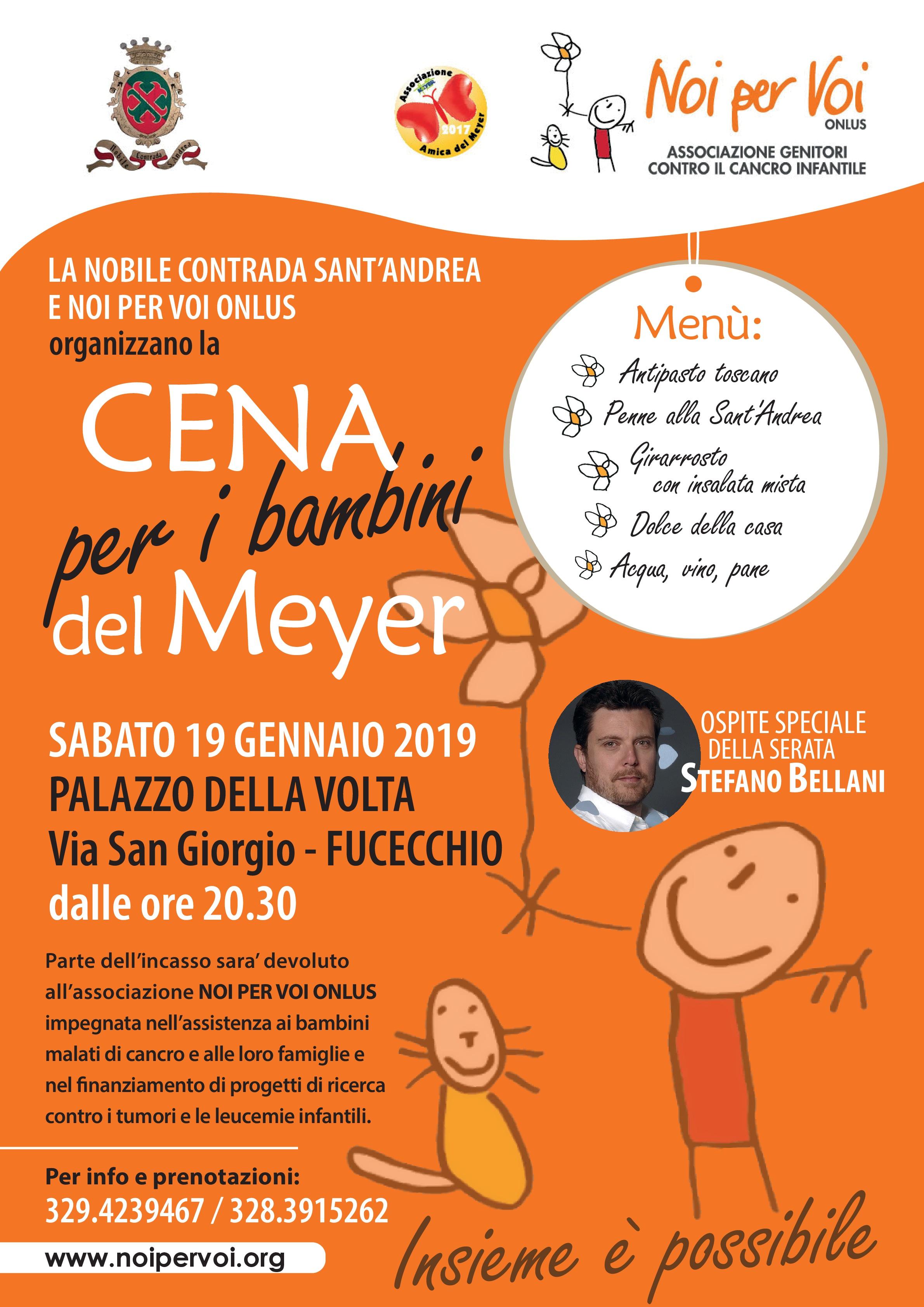 Cena per i Bambini del Meyer Fucecchio 2019