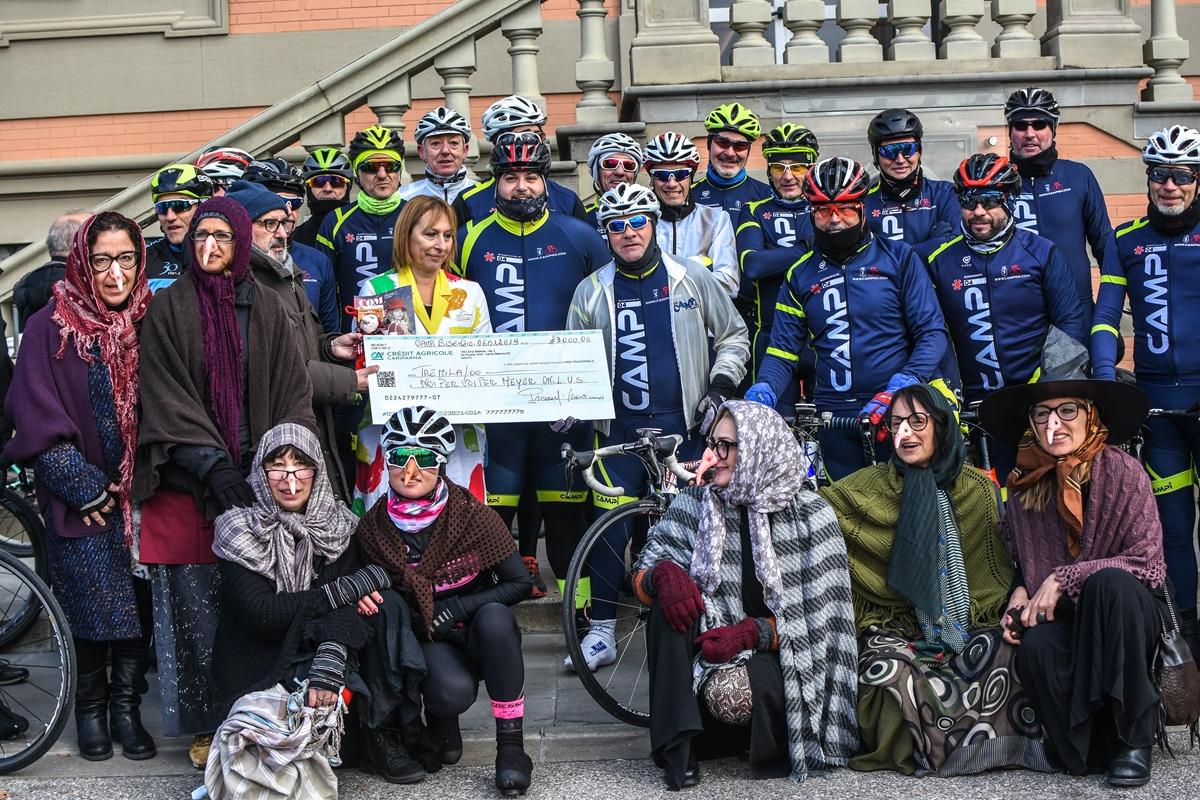 Befana al Meyer con i Ciclisti di Campi