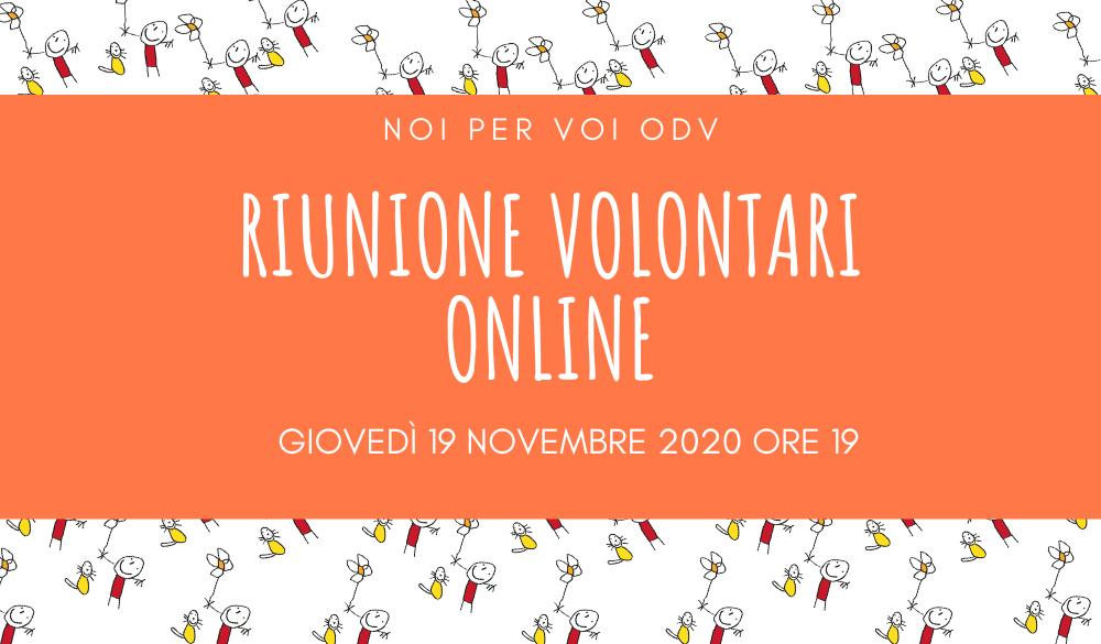 riunione-volontari-online